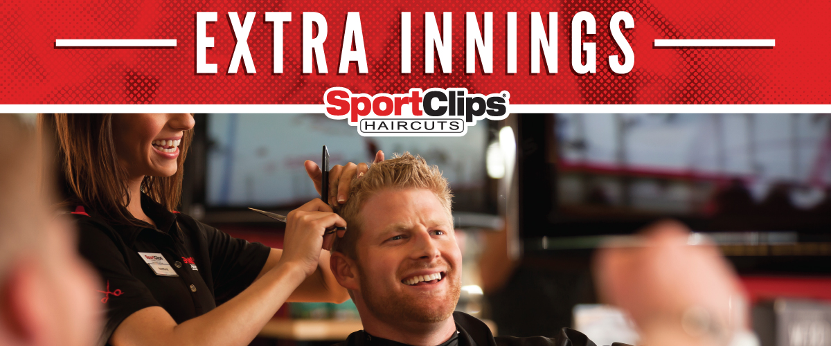 The Sport Clips Haircuts of San Clemente  Extra Innings Offerings