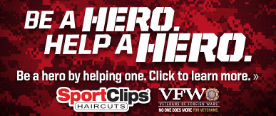 Sport Clips Haircuts of San Clemente ​ Help a Hero Campaign